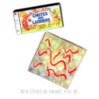 § Disc .60¢ Off - Chutes & Ladders with Board - Product Image