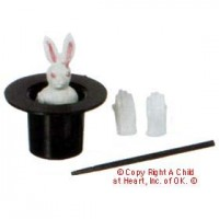 § Disc .60¢ Off - Dollhouse 4 pc Magic Set - Product Image
