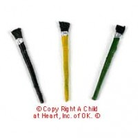 § Disc .60¢ Off - Dollhouse 3 pc Paint Brushes - Product Image