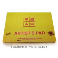 Dollhouse Opening Artist Sketch Pad - Product Image