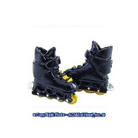 § Sale $1 Off - Dollhouse Roller Blades - Product Image