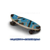 (**) Dollhouse Miniature Skate Board - Product Image