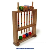 Dollhouse Croquet Set - Product Image