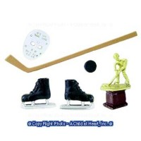Dollhouse 6 pc. Hockey Set - Product Image