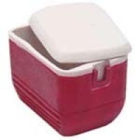 Dollhouse Ice Chest - Red - Product Image