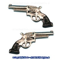 (§) Sale .60¢ Off - 2 Pistols Silver - Product Image