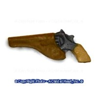 Dollhouse Hand Gun in Holster - Product Image