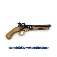 (*) Dollhouse Flint Handgun - Product Image