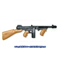(**) Dollhouse Thompson Submachine Gun - Product Image