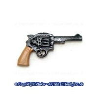 (**) Unfinished Police Revolver - Product Image