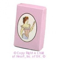 § Disc .60¢ Off - Dollhouse Lady's Clothing Box - Product Image