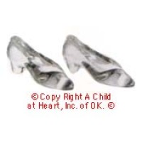 (§) Sale .20¢ Off - Dollhouse Glass Slippers - Product Image