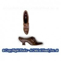 Sale - Dollhouse Witch Shoes - Product Image