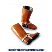 (*) Dollhouse Riding Boots - Product Image