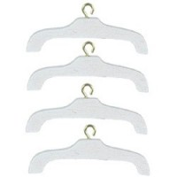 § Sale $1 Off - White Wood Hangers - Product Image
