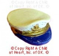 § Sale .60¢ Off - Captain's Sailor Hat - Product Image