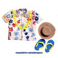 Men's Hawaiian Outfit Beach Set - Product Image