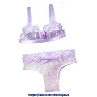 § Sale .60¢ Off - Dollhouse Bra & Panties in Lavender - Product Image