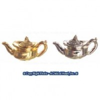 Coffee Pot or Teapot in Silver or Gold - Product Image