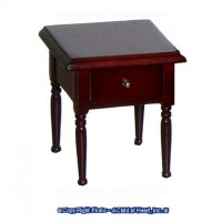 Mahogany Dollhouse Night Stand - Product Image