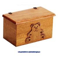 Dollhouse Bear Toy Box - Product Image