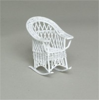 § Disc $2 Off - Dollhouse Child's Bar Harbor Rocker - Product Image