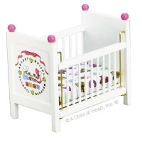 Dollhouse ABC Crib - Product Image