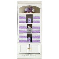 (§) Sale $4 Off - Dollhouse Lavender Bathroom Shelf - Product Image