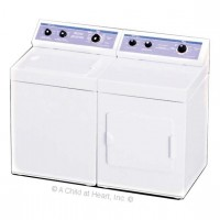 (*) Dollhouse Metal Modern Washer or Dryer - Product Image