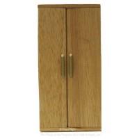 () Sale $6 Off - Dollhouse Modern Oak Refrigerator - Product Image