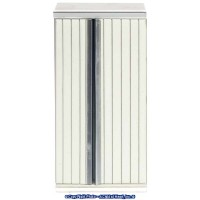 () Sale $3 Off - White Ribbed Front Refrigerator - Product Image