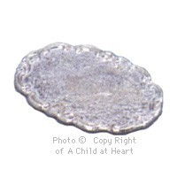 § Disc .40¢ Off - Dollhouse Oval Platter - Product Image