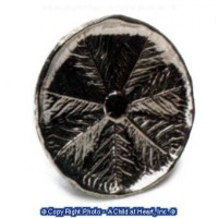 (**) Dollhouse Round Leaf Tray - Product Image