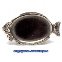 Dollhouse Oval Center Fish Tray - Product Image
