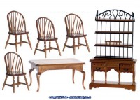 Windsor Dollhouse Dining Room - Product Image