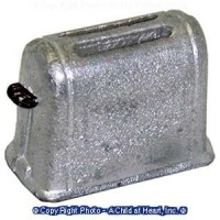 § Sale - Dollhouse 1950's Style Toaster - Product Image