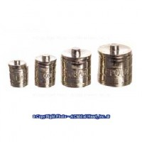 Disc $2 Off - Dollhouse Engraved Kitchen Canisters - Product Image