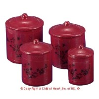 § Sale - Metal Canisters- Choice of Color - - Product Image