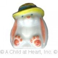 (§) Disc. $2 Off - Dollhouse Ceramic Cookie Jar - Bunny - Product Image
