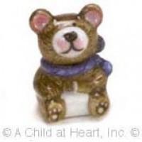 Disc $2 Off - Dollhouse Ceramic Bear Cookie Jar - Product Image