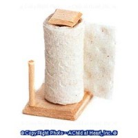 § Disc $1 Off - Dollhouse Counter Paper Towel Holder - Product Image