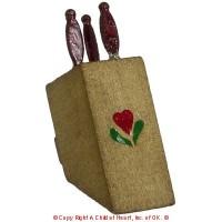 Dollhouse Knife Block - Product Image