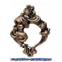 Sale - Dollhouse Art Nouveau Frame - Product Image