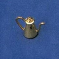 Disc $1 Off - Dollhouse Brass Coffeepot - Product Image