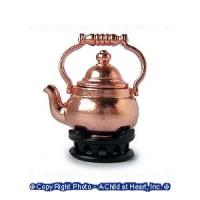 Disc $1 Off - Dollhouse Teapot & Trivet - Product Image