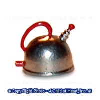 (?) Disc $1 Off - Dollhouse 50's Retro Tea Kettle - Product Image