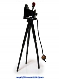 Dollhouse Old Fashion Camera on Tripod - Product Image