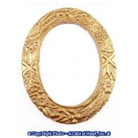 Dollhouse Small Oval Frame - Product Image