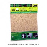 Dollhouse Packaged Sand Paper - Product Image