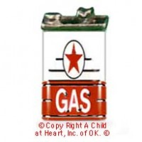 § Sale .60¢ Off - Dollhouse Gas Can - Product Image